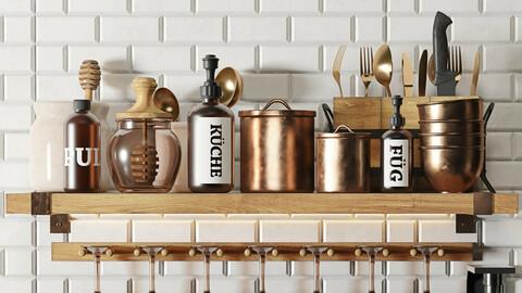 Kitchen accessory decor set collection