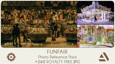 Photo Reference Pack: Funfair