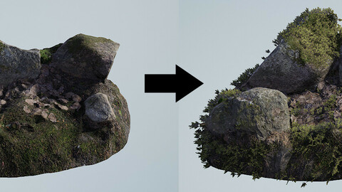 Texture based scatter tool for Unreal Engine 4.23 or higher