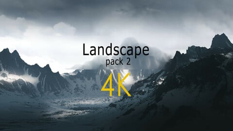 4K HIGH DETAIL TERRAINS / Landscape Pack 2