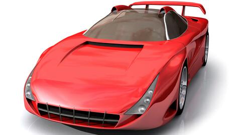 Sports Car Graphic Set
