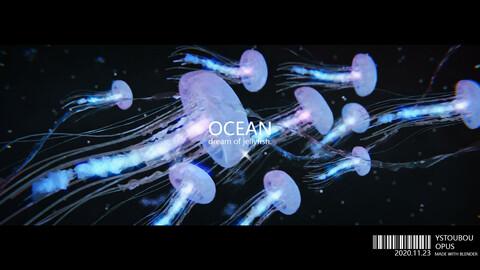 blender jellyfish