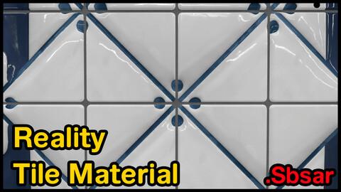 Reality Tile Material / v31 / .sbsar