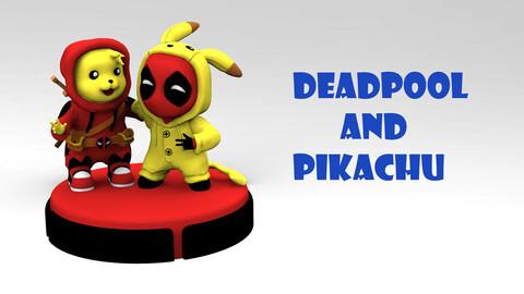 Deadpool and Pikachu