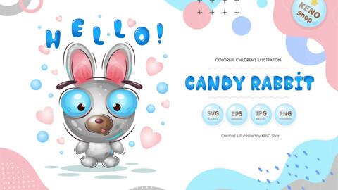 Candy rabbit.