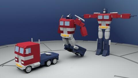 Optimus Prime Rig