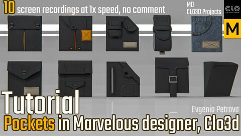 Pocket Tutorial. Clo3d, Marvelous Designer