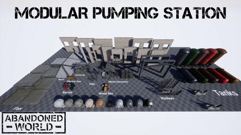 Modular Pumping Station for UE4