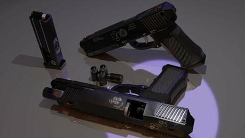 Rhinoceros - heavy pistol