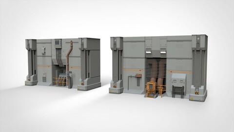 Sci Fi Modular Environment 11