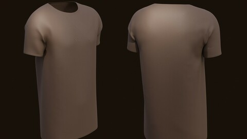 T-shirt - 3D model