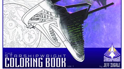 Starshipwright Coloring Book Vol. 1 PDF