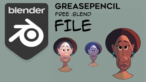 Blender Greasepencil study