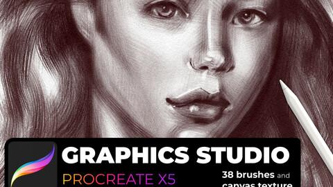 Graphics studio for Procreate