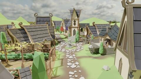 Elven Village pack