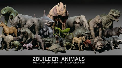 Zbuilder Animals
