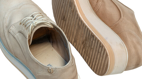 Shoes suede 119