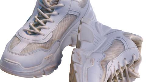 White sneakers 120