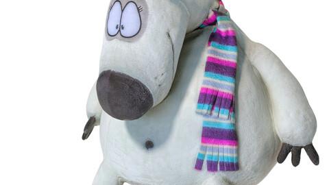Toy polar bear 129