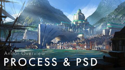 Andor Overview Process & PSD