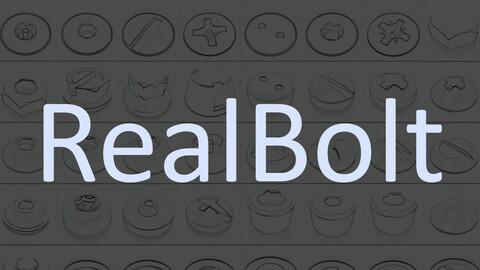 RealBolt Plugs For Meshmachine