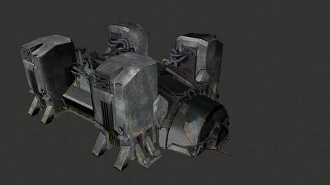 Xenomorph Incubation Chamber (Incubator)