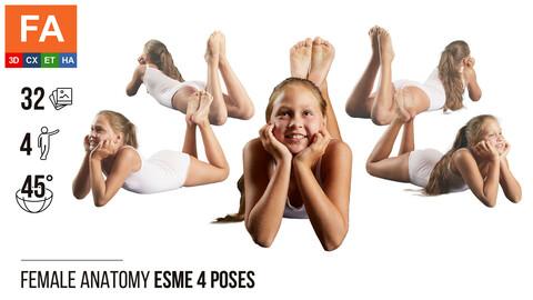 Female Anatomy | Esme 4  Various Poses | 32 Photos
