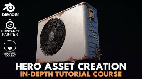 Hero Asset Creation - In-Depth Tutorial Course