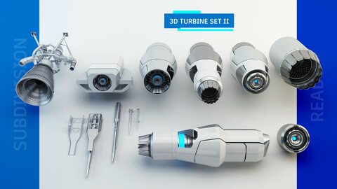 TURBINE SET II - SUBDIVISION READY