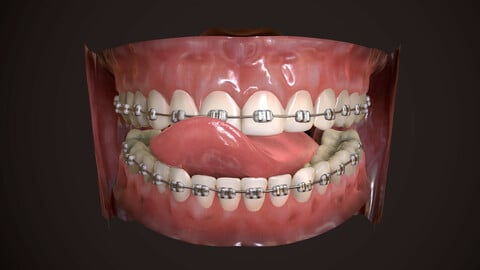 Great Teeth Collection - Mouth for character