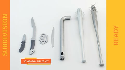 WEAPON MELEE KIT - SUBDIVISION READY