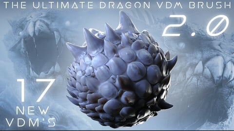 The Ultimate Dragon Scale VDM Brush Pack 2