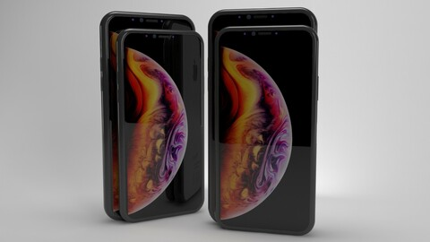 Iphone XS and XS Max ELEMENT 3D V2.2