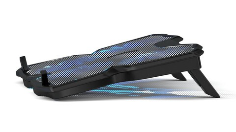 Cooling Pad for Laptops with Four Fans 3d Model