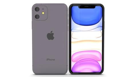 iPhone 11 Realistic Model