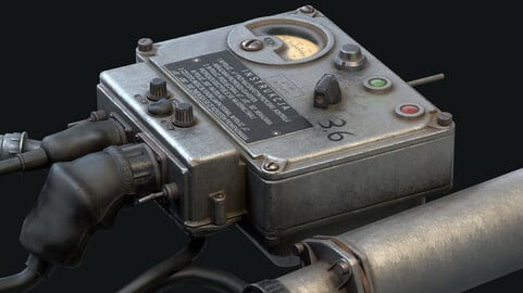 DP-3B Dosimeter - Substance Painter