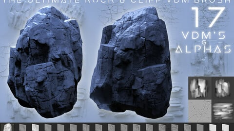 The Ultimate Rock & Cliff VDM Brush