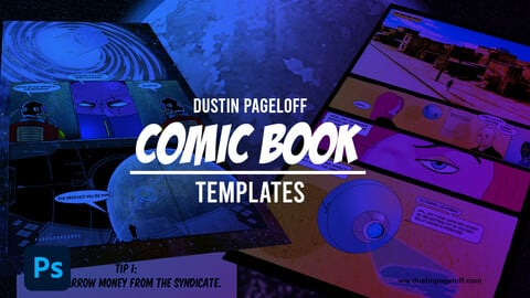 Comic Book Templates for Photoshop