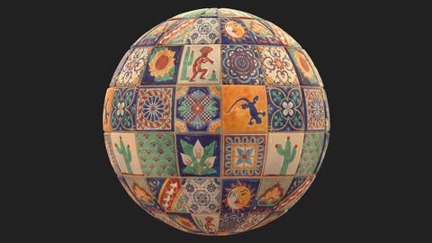 Mexican Tiles - Substanse Designer Material