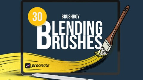 Procreate Blending Brushes