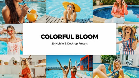 20 Colorful Bloom LUTs and Lightroom Presets