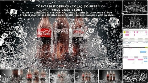 TABLE-TOP COLA SIMULATION WITH PHOENIX FD AND TYFLOW