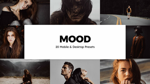 20 Mood LUTs and Lightroom Presets