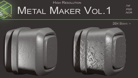 Metal Maker Vol.1 20 VDM + 4k MAPS