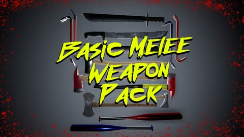 Basic Melee Weapon Pack for UE4