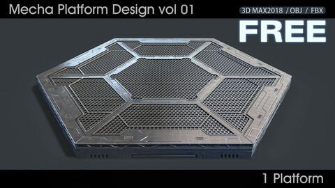 Mecha Platform Design vol 01 Free