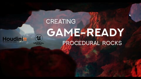 Houdini Tutorial Creating Game-Ready Procedural Rocks