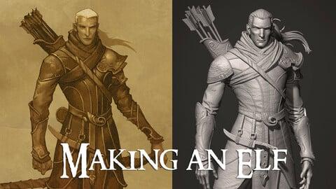 Making an Elf - a ZBrush workshop
