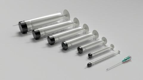 Syringe Model SET Standart 8 Model