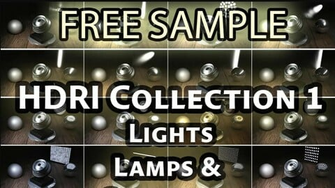HDRI Collection 1 - FREE SAMPLE - Raw Softbox